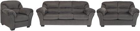 Milo Italia MI9042SLCCHAR Madison Living Room Sets