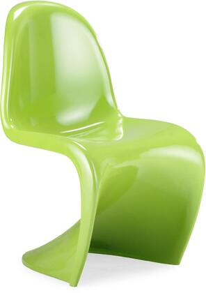 Modway EEI123LIGHTGREEN Slither Series Dining Not Upholstered Plastic Frame Accent Chair