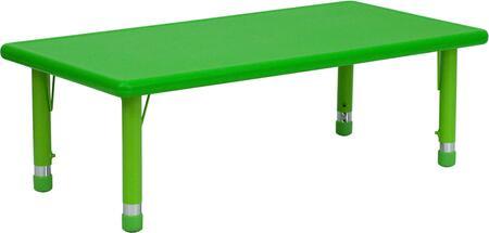 Flash Furniture YUYCX0012RECTTBLGREENGG