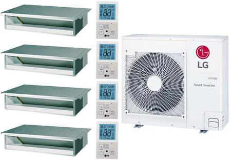 LG 962621 28400 BTU Quad-Zone Mini Split System