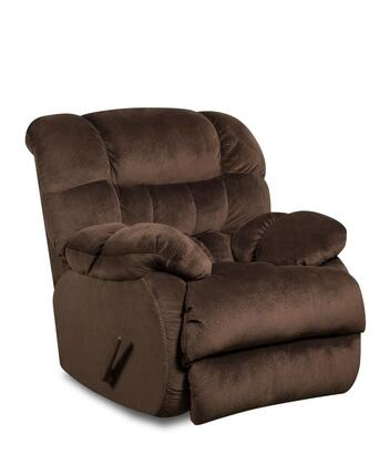 Chelsea Home Furniture 1894605980PWR Laguna Series Transitional Polyester Wood Frame Rocking Recliners