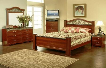 Sandberg 330B Durban California King Bedroom Sets