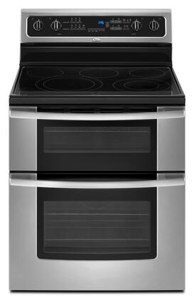 Whirlpool Gold Gge390lxs 30 Inch Freestanding Double Oven