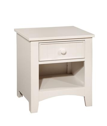 Furniture of America CM7905WHN Corry Series  Night Stand