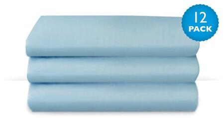 """Foundations CozyFit CS-SS-XX-12 50"""" Cot Sheets with High Quality Polyester, Wrinkle Resistant Fabric"""