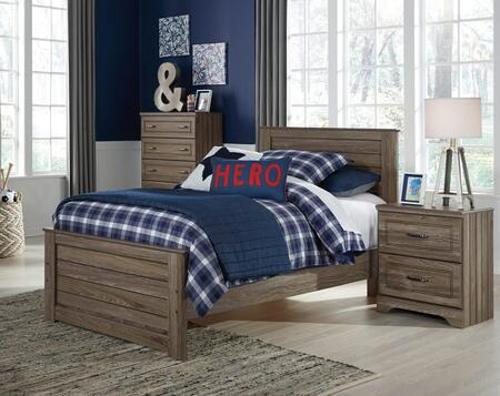 Signature Design by Ashley B1712PCTP2DNKIT1 Javarin Twin Bed