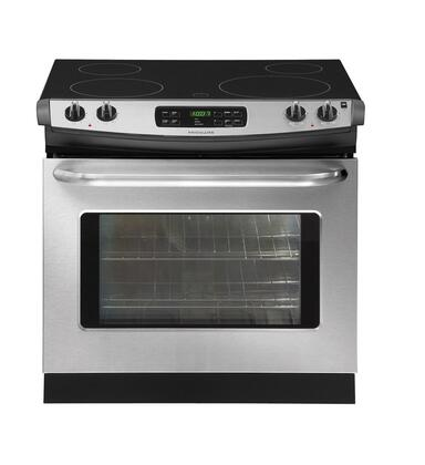 """Frigidaire FFED3025LS 30"""" Slide-in Electric Range with Smoothtop Cooktop 4.2 cu. ft. Primary Oven Capacity 