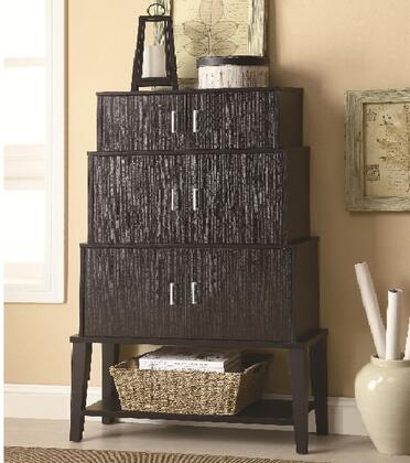 Coaster 950161 Accent Cabinets Series Freestanding Wood Cabinet