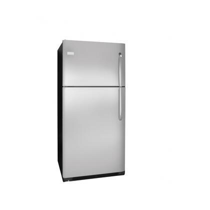 Frigidaire FFHT2126LK Freestanding Top Freezer Refrigerator with 20.6 cu. ft. Total Capacity 2 Glass Shelves 5.26 cu. ft. Freezer Capacity |Appliances Connection