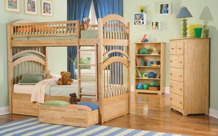 Atlantic Furniture WINTTNM  Twin Size Bed