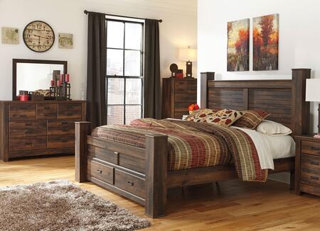 Signature Design by Ashley B2466866S6199DMC Quinden King Bed