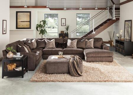 "Jackson Furniture Serena Collection 2276-46-59-30-76- 166"" 4-Piece Sectional with Left Arm Facing Loveseat, Corner Section, Armless Sofa and Right Arm Facing Chaise in"