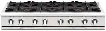 "Capital CGRT488N 48"" Culinarian Series Gas Open Burner Style Cooktop"