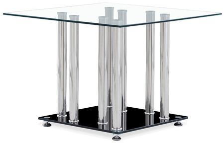 Global Furniture USA T368E Modern Square End Table