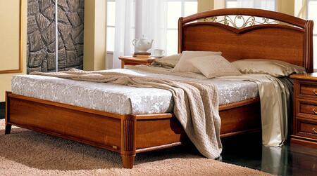 ESF Nostalgia Collection I4985I7364 Platform Bed in Walnut