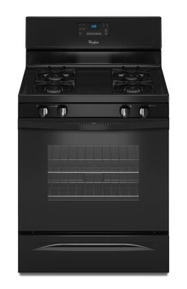Whirlpool WFG510S0AB N/A Gas Freestanding Range with Sealed Burner Cooktop, 5.0 cu. ft. Primary Oven Capacity, Storage in Black