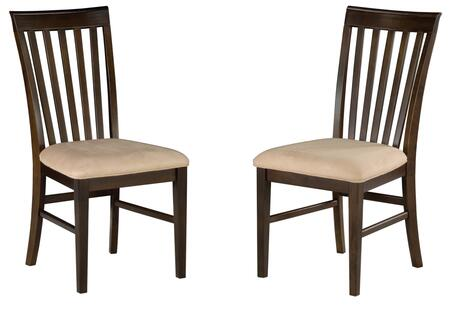 Atlantic Furniture MISSIONDCOCCL Mission Series  Dining Room Chair