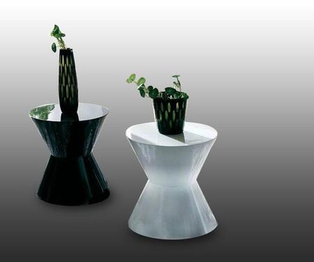 VIG Furniture CJM052W Modern  End Table