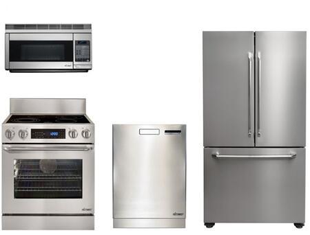 Dacor DAC4PC30EFIFSFDCDSSKIT1 Distinctive Kitchen Appliance