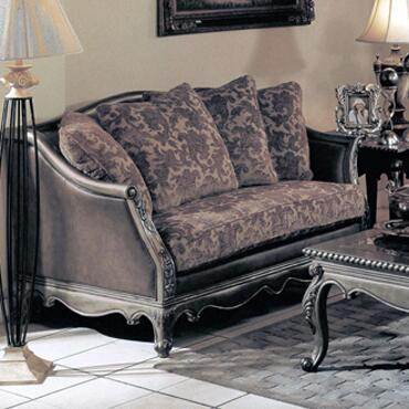 Yuan Tai NC1035L Nicola Series Fabric Sofa with Wood Frame Loveseat