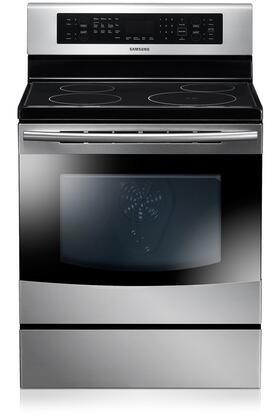 "Samsung Appliance NE595N0PBSR 30"" Electric Freestanding  Appliances Connection"