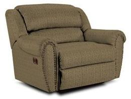 Lane Furniture 21414461032 Summerlin Series Transitional Fabric Wood Frame  Recliners