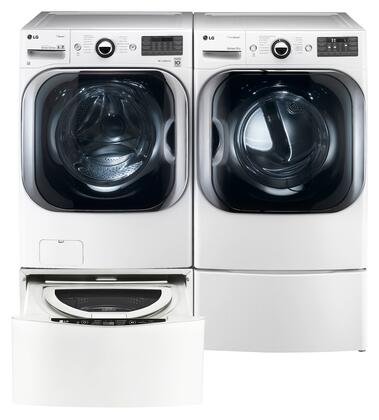 LG LG4PCFL29G2PEDSSKIT6 Washer and Dryer Combos