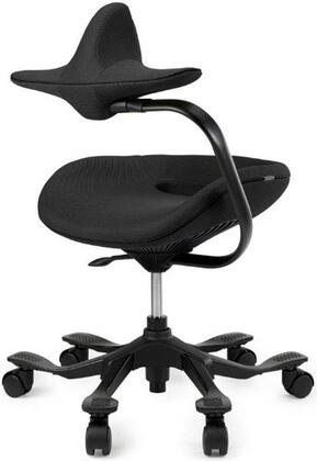 Inner Balance AERO7 Ergonomic Control System with Adjustable Chest Support and Seat Height Adjustment in