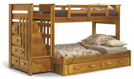Chelsea Home Furniture 36500  Twin Over Full Size Bunk Bed