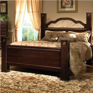 Standard Furniture 4002A Sorrento Series  Queen Size Poster Bed