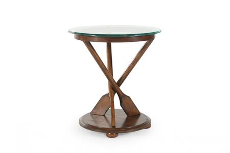 Magnussen T221405 Beaufort Series Transitional Round End Table