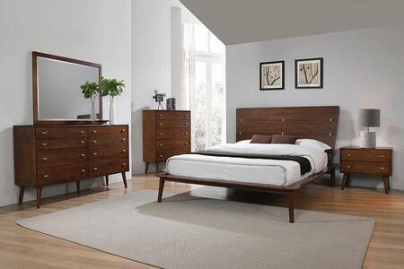 Coaster Wenham 5 Piece Queen Size Bedroom Set