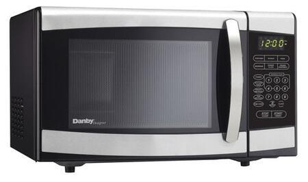 "Danby DMW077BLSDD 18"" Countertop Microwave, in Stainless Steel"
