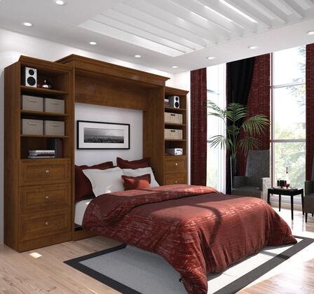 Bestar Furniture 40883 Versatile by Bestar 115'' Queen Wall bed kit