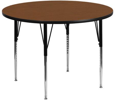 Flash Furniture XUA42RNDOAKHAGG