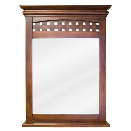 Bath Elements MIR055 Lyn Series Rectangular Portrait Bathroom Mirror