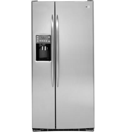 GE Profile PSSS3RGZSS Profile Series  Side by Side Refrigerator with 23.1 cu. ft. Capacity in Stainless Steel