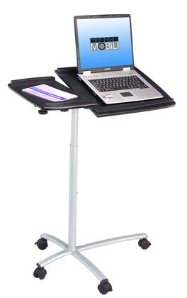 RTA Products RTA-B001N- Techni Mobili Rolling Laptop Stand in