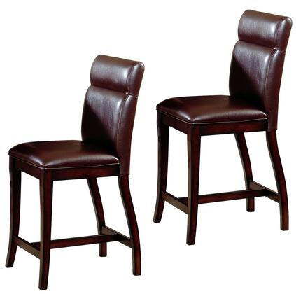 Hillsdale Furniture 4077822 Nottingham Series Residential Faux Leather Upholstered Bar Stool