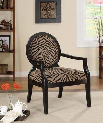 Coaster 900213 Armchair Fabric Wood Frame Accent Chair