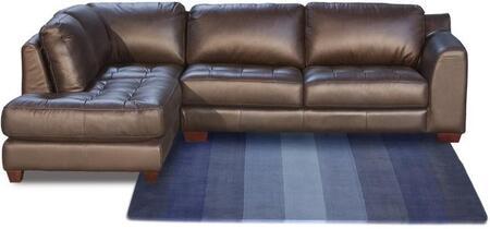 Diamond Sofa ZENLF2PCSECTM Zen Series  Sofa