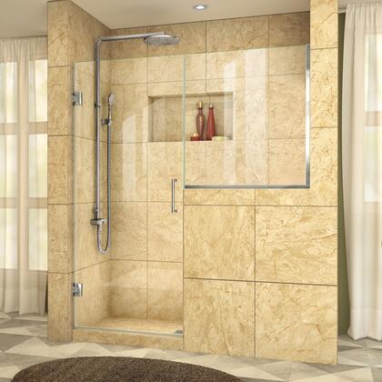 DreamLine UnidoorPlus Shower Door 39 30D 30BP 01