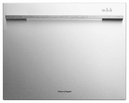 "Fisher Paykel DD24SCTx 24"" DishDrawer Tall Semi Integrated Single Drawer Dishwasher with 7 Place Settings, 9 Wash Cycles, Quiet Operation, Adjustable Racks, Eco Option, and Energy Star Certified in"