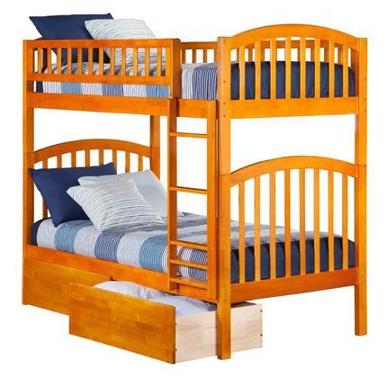Atlantic Furniture AB64147  Twin Size Bunk Bed
