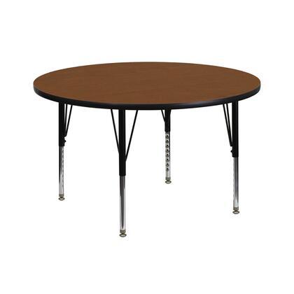Flash Furniture XUA42RNDOAKHPGG