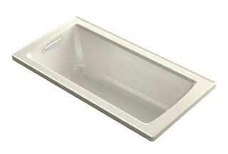"Kohler K-1947-VB Archer 60"" x 30"" Drop-In VibrAcoustic Bath Tub with Reversible Drain in"