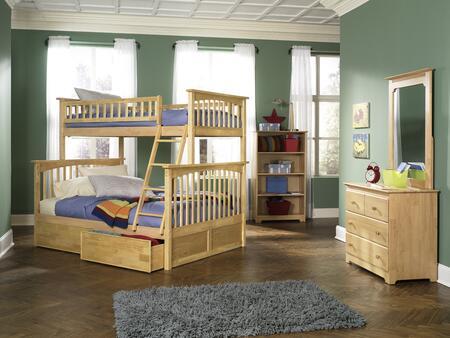 Atlantic Furniture YBBCOLUMBIATWINFULLNM Columbia Series  Full Size Bed
