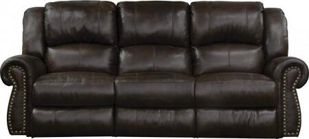 Catnapper 64221128309308309 Messina Series  Leather Sofa