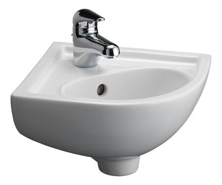 Barclay 4745WH White Sink