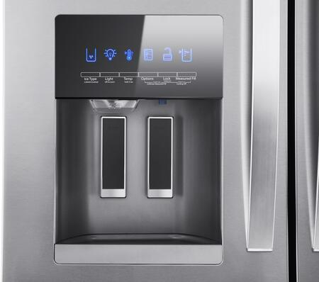 Whirlpool WRX735SDHZ 36 Inch French Door Refrigerator